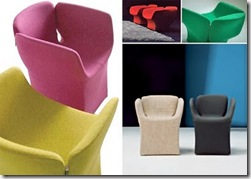 moroso bloomy chair