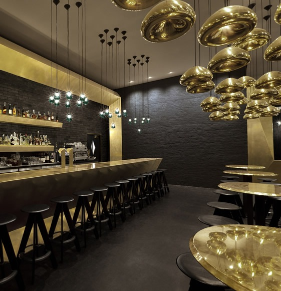 Tom dixon designs for jamie oliver restaurant design