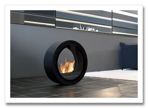 Fire In The Role Of Its Life: Fiercely Blazing, Steady And Yet Quite Free. ROLL  FIRE From Conmoto, Provides Warmth Wherever It Is Installed.