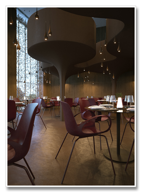 Twister Restaurant in Ukraine | Restaurant Design | Design